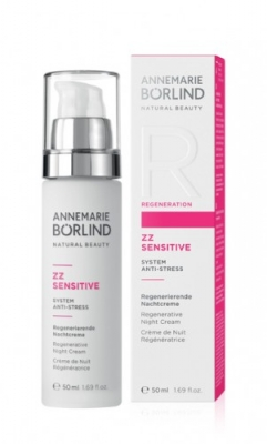 AnneMarie Börlind, Night Cream, ZZ Sensitvie Anti-stress i gruppen Ekologiska skönhetsprodukter / AnneMarie Börlind hos Masesgården AB (4055)