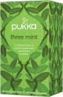 Pukka - three mint, 20 påsar